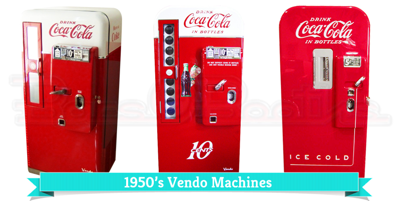 50's soda machine, vintage soda machine, vendo machine, vendo,