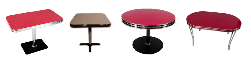 Selection of kitchen Tables