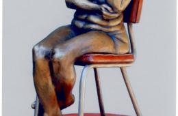 Ken Newman Sculpture American Pi: Cambridge ID