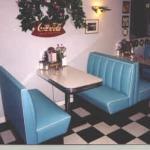 Beverly Hills Diner Booth Set