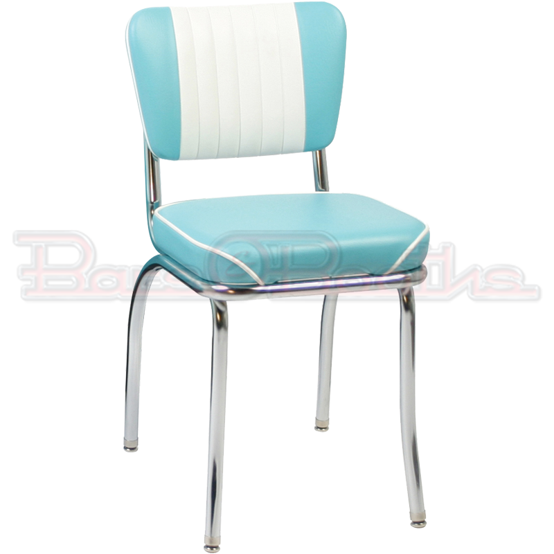 Tufted Back Diner Chair