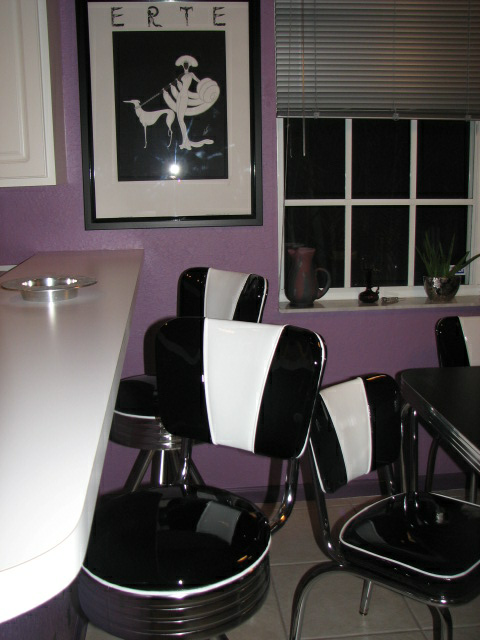 Retro Kitchen Table And Chairs Dinette Set Diner Furniture Home