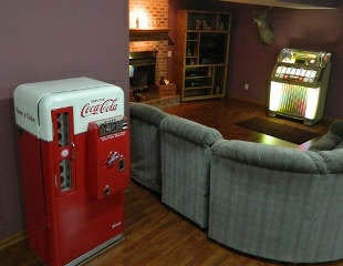 Darrell S Man Cave Soda Machine Restored Cavalier 56