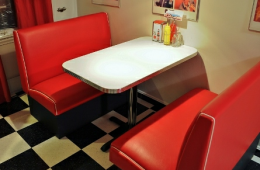 Brain's Galaxies Diner Booth – Cleveland, OH