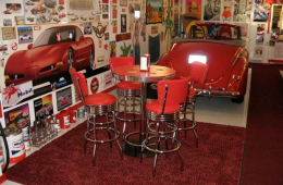 Gary's Retro Pub Table – Fountain Hills, AZ