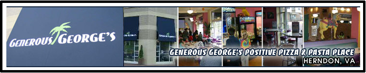 Generous Georges Pizza Banner