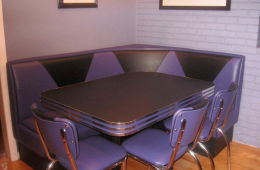 Janet's Purple Diner Booth – Natick, MA