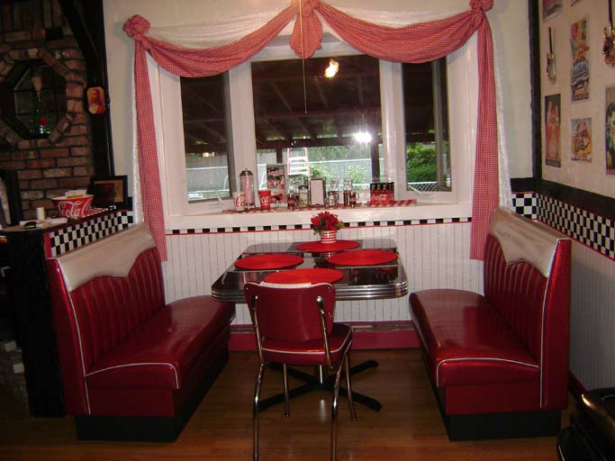 Joan S Retro Kitchen Diner Booth