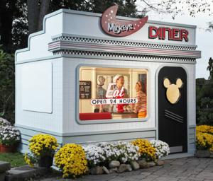 Child's Booth at Disney World