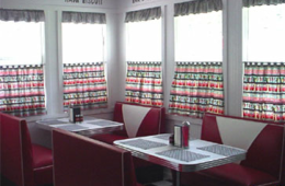 Mom's Home Diner Booths – Hillsborough, NC