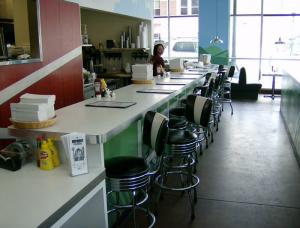 Moo Moo's Cafe - Decor by BarsandBooths.com