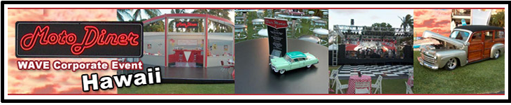 MotoDiner Wave Corporate Event Banner