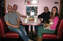 Orr's Soda Fountain Diner Booth – Ireland