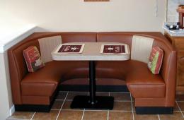 Phyllis' Modern Half Circle Booth – Crossville, TN