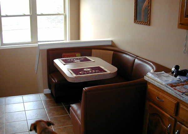 Phyllis S Modern Half Circle Booth Kitchen Home Seating