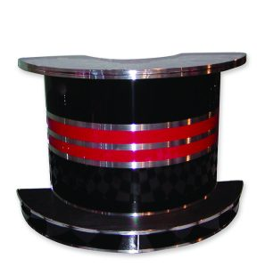 Roberta's Bar - Free Standing - Black/Red