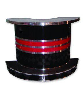 Roberta's Bar - Free Standing - Black/Red