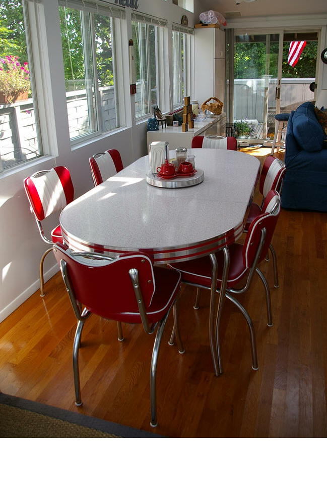 Resnick 39 s retro table and chairs - Table cuisine retro ...