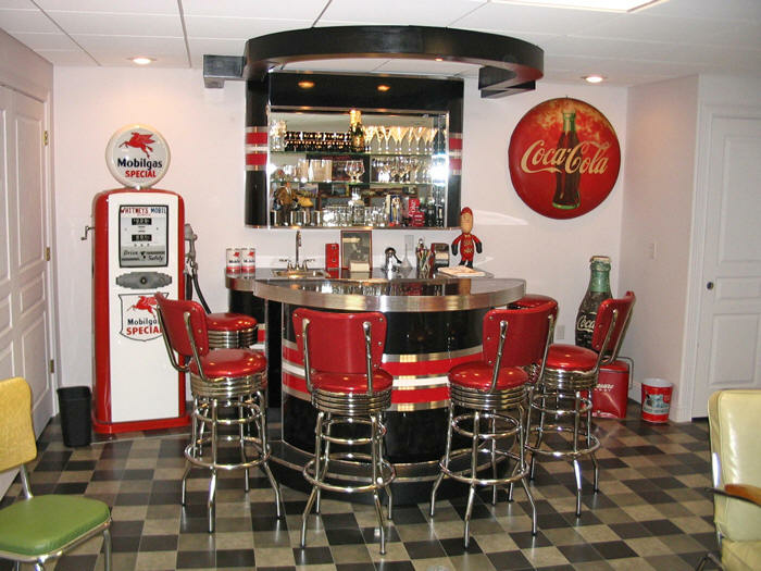 Richard S Retro Home Bar Barsandbooths Com