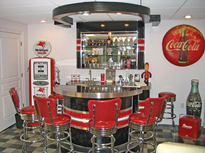 Richards Retro Home Bar Barsandboothscom