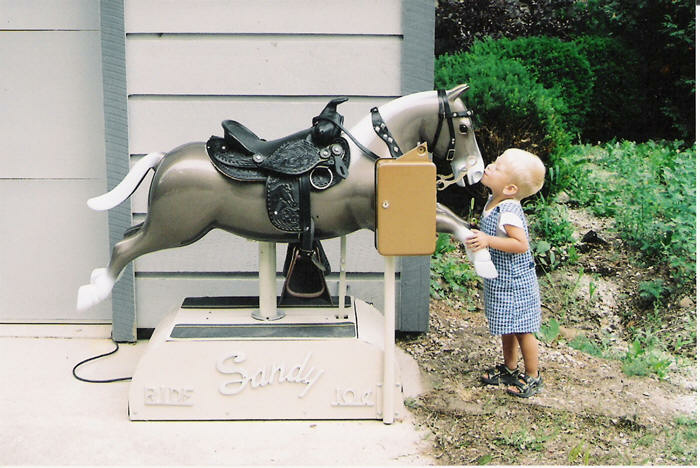 Sandy Horse Ride Restored Kiddie Vintage 1950 S Retro