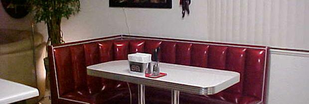 Sherri's L Shaped Booth – Alburquerque, NM
