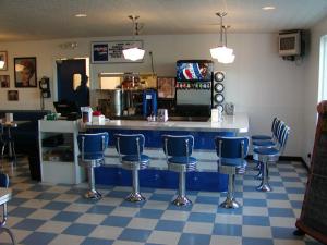 Custom Bar Silver Moon Diner