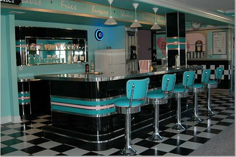 Home Diner Bar Stools Custom Bar Diner Booths Basement