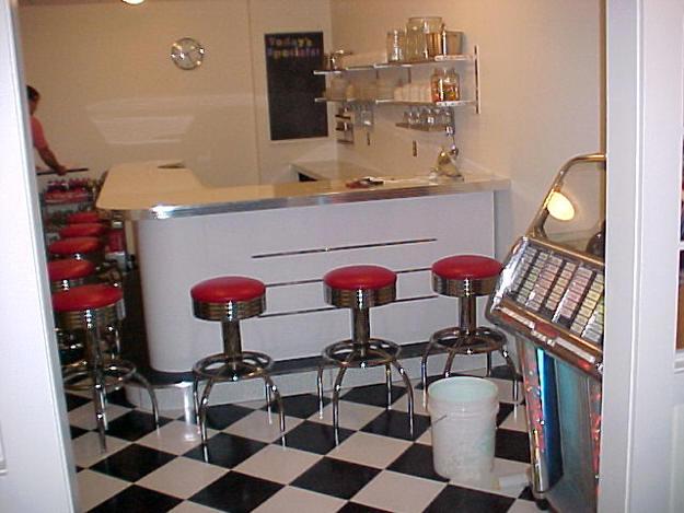 Side View of Kurt's Bar