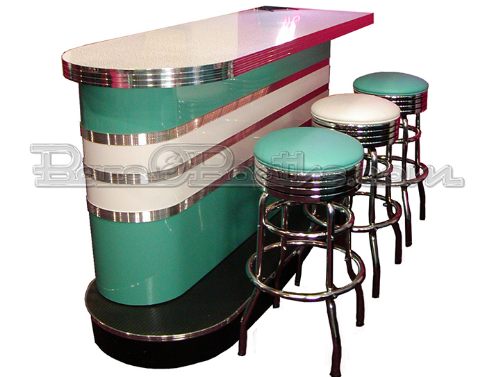 Custom Bomber Bar Home Bar Game Room Bar Stools