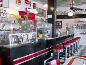 Custom Bar for Glory Days Diner - Diner Furniiture by BarsandBooths.com