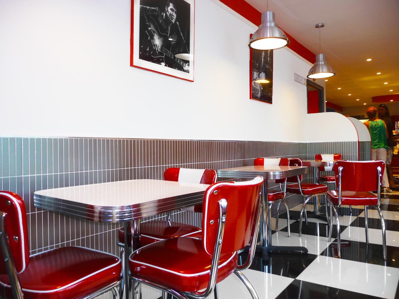 Rt 66 Pasta Bar   Diner Decor By BarsandBooths.com