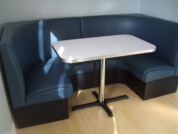 Quarter Circle Kitchen Table