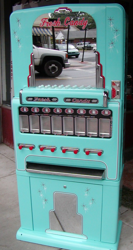 Stoner Theater Candy Machine Teal