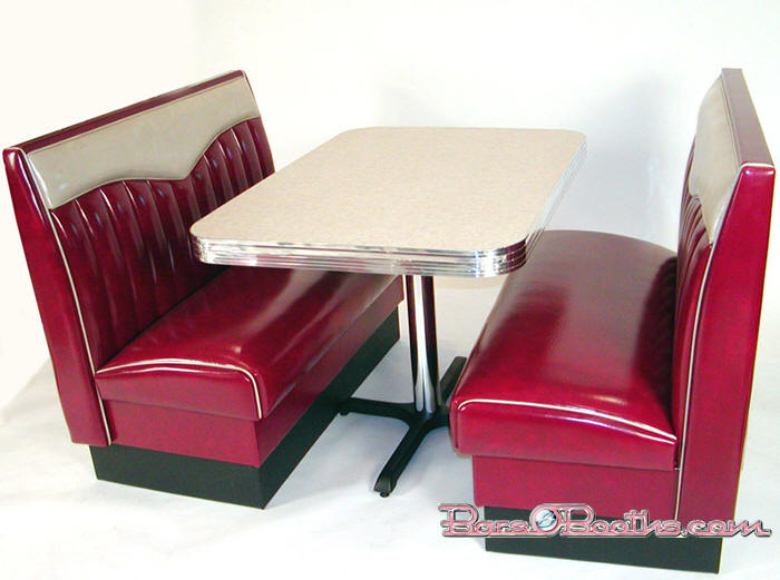 Bopper Diner Booth Set