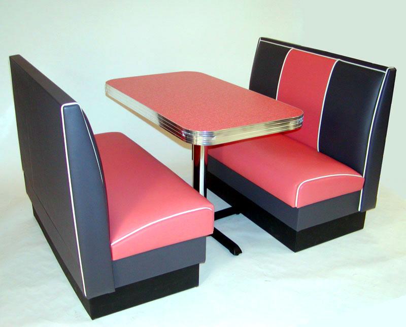 Miami Deco Diner Booth Set