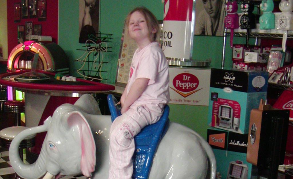 Dumbo Kiddie Ride