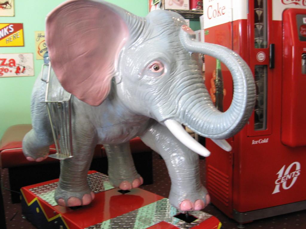 Elephant Kiddie Ride