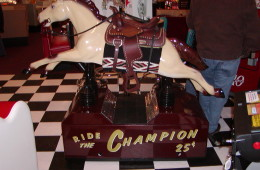 Champion Horse Ride Restored