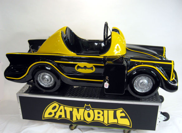 Batmobile Ride Coin Operated Original Restored Kids