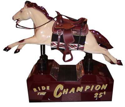 Champion Horse Kiddie Ride