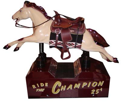 Champion Horse Kiddie Ride