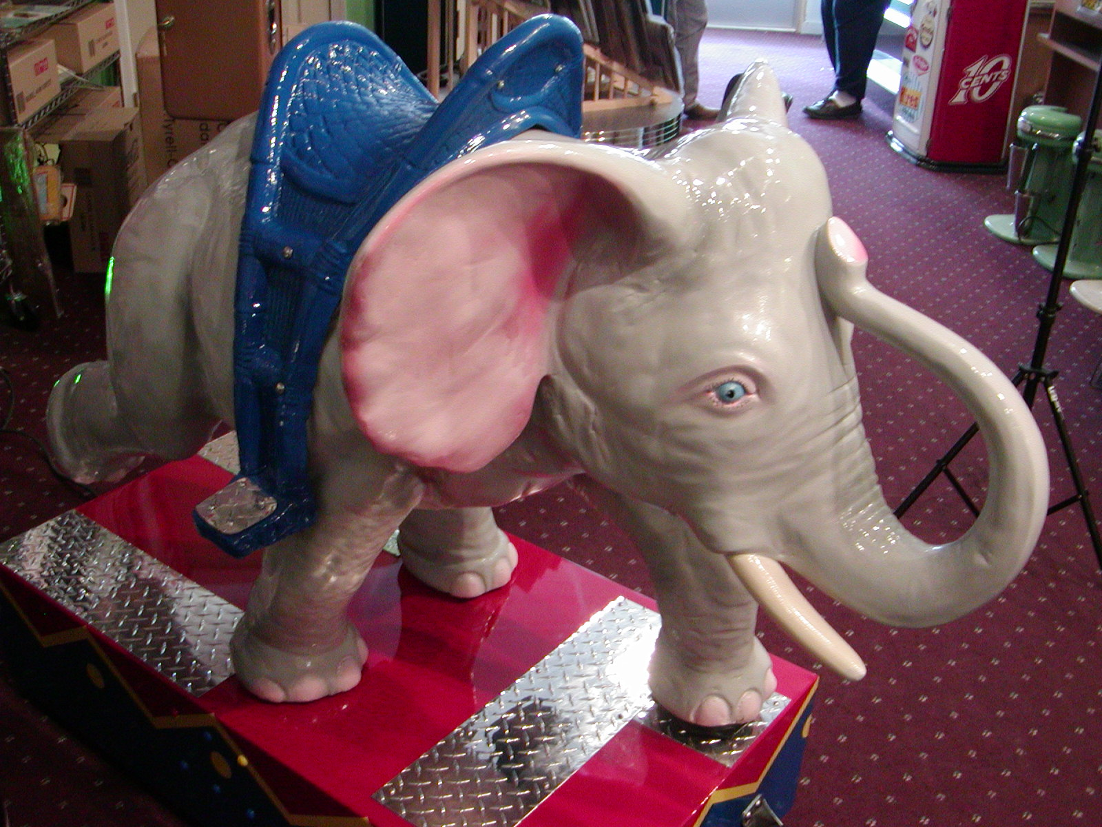 Dumbo Ride Coin Operated Kiddie Ride Restored Original