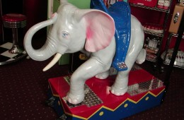 Dumbo Ride Restored Coin Operated – SOLD