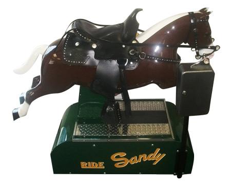 Sandy Horse Kiddie RIde