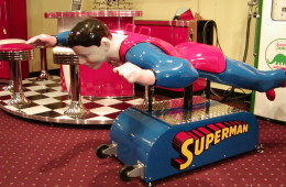Superman Kiddie Ride Coin Operated – SOLD