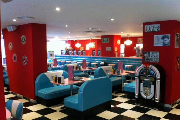 hd diner levallois 50s retro decor by bars amp booths