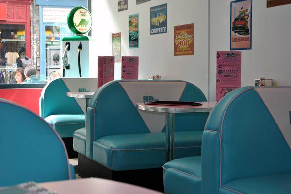 Hd Diner Lille France 50s Retro Decor From Bars And Booths