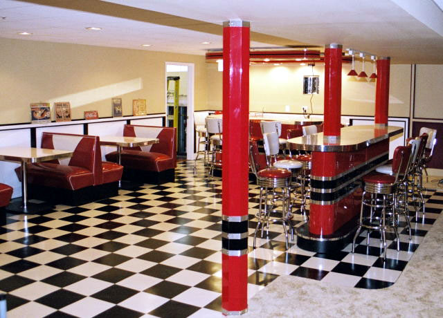Kieth Retro Home Diner 187 Bars Amp Booths