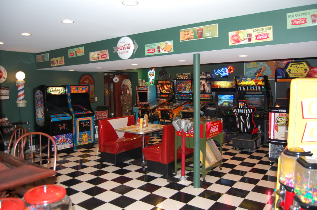 Mike S Retro Game Room Front Royal Va Retro Furniture